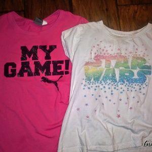 Puma Shirts & Tops - 🍧BOGO PUMAS + Star Wars Girls Tee Bundle🍧